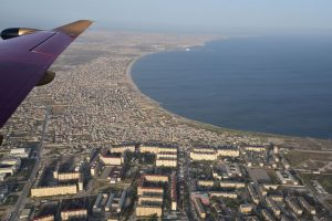 Transafrica 2018 | Baku, Azerbaijan | Harbour view, drone footage | Formula 1 Race