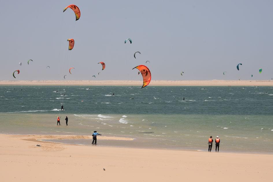 Transafrica 2018   Ad Dakhla, Western Sahara   Kite Surfing